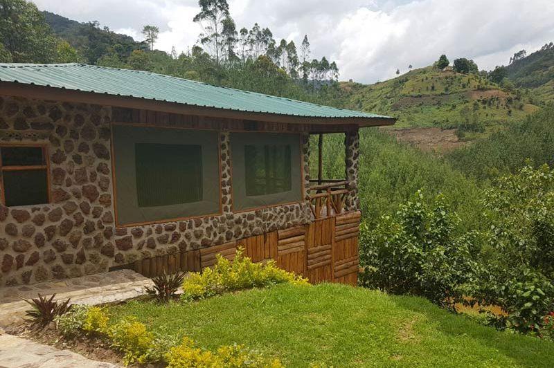tented family cottage - Rushaga Camp - Oeganda