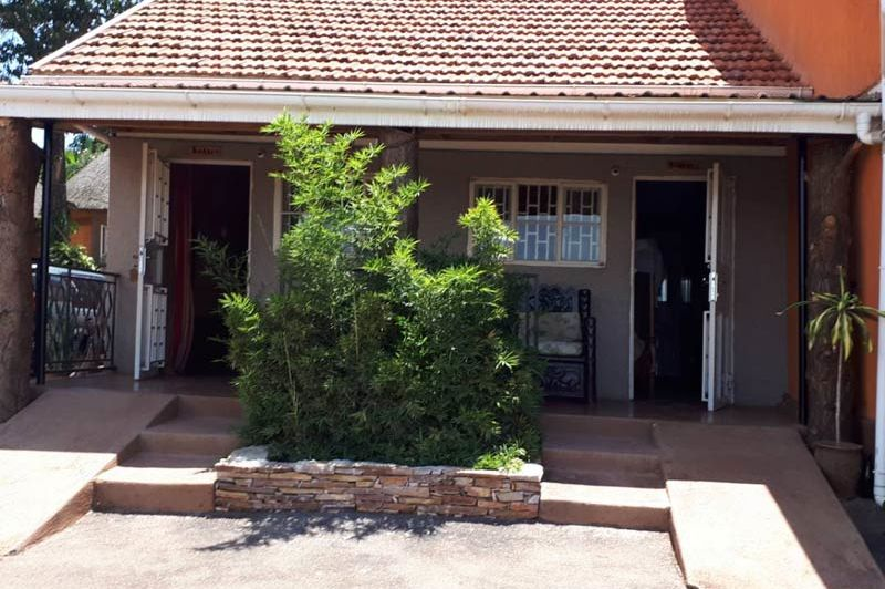 struik voor huisje - Victoria Lake View Guesthouse - Oeganda