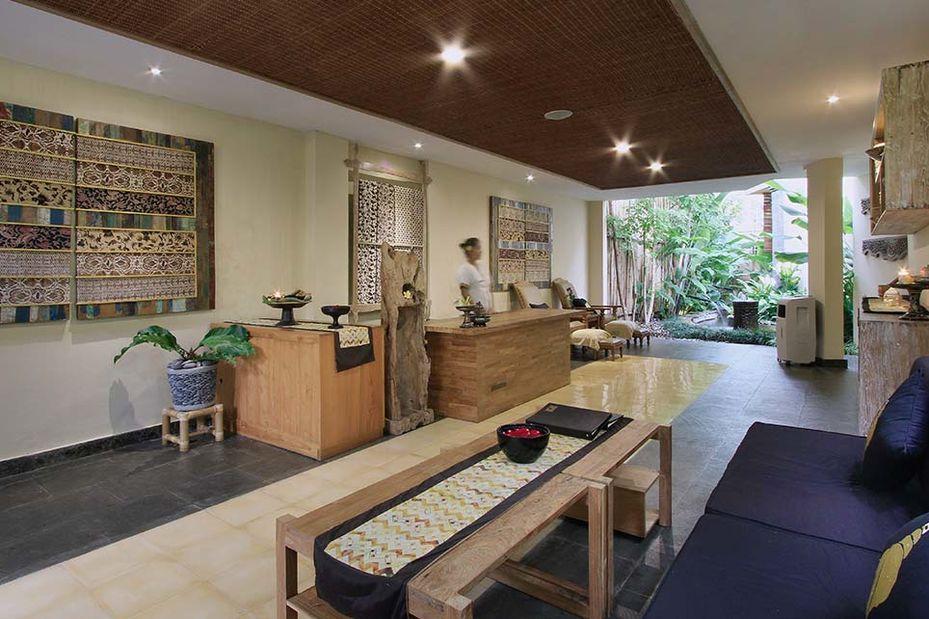 receptie - The Sankara - Ubud - Bali - Indonesië - foto: Sankara