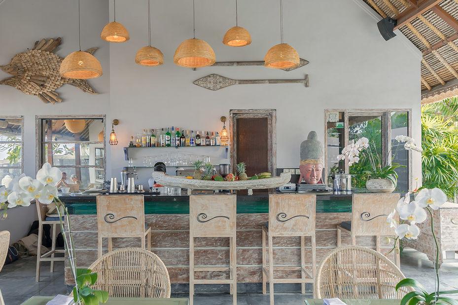 restaurant - Indiana Kenanga Hotel - Nusa Lembongan - Bali - Indonesië - foto: Indiana Kenanga Hotel