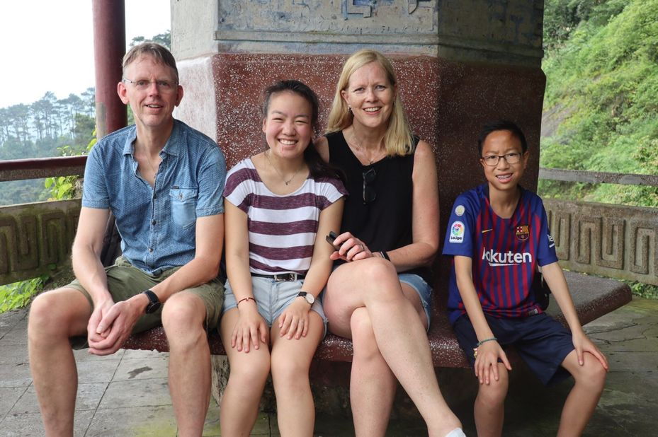 rootsreis China - familie Gritter