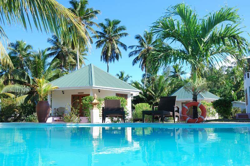 Zwembad - L' Habitation Cerf Hotel - Seychellen