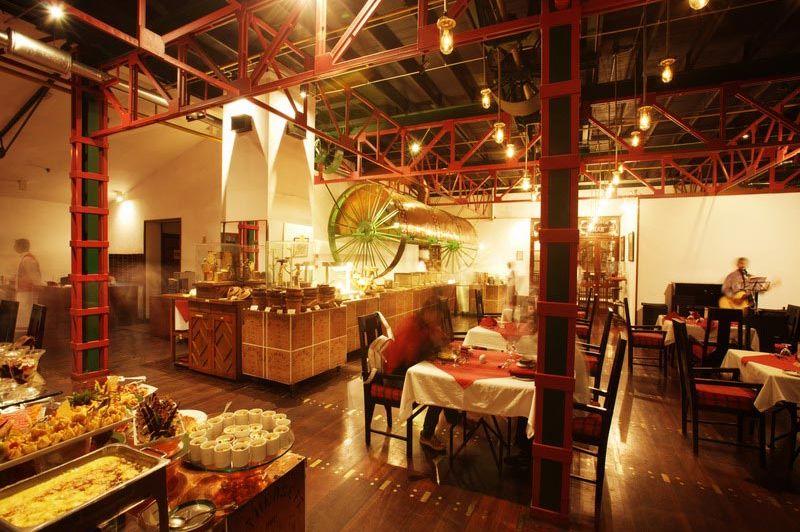 restaurant - Tea Factory - Nuwara Eliya - Sri Lanka