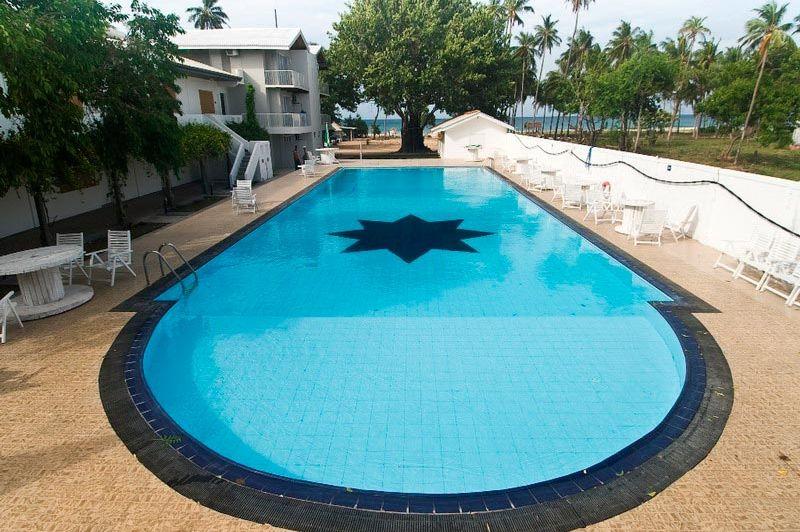 zwembad - Pigeon Island Resort - Trincomalee - Sri Lanka
