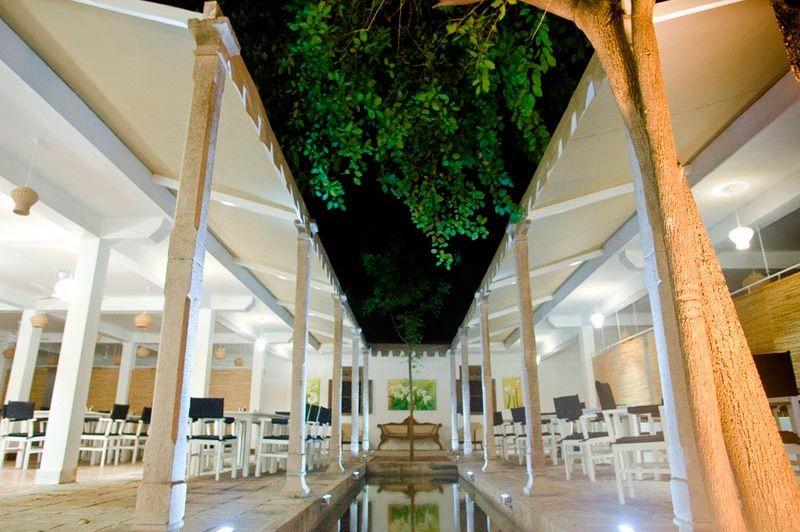 restaurant - Pigeon Island Resort - Trincomalee - Sri Lanka