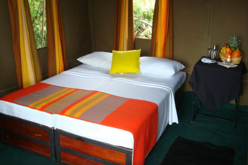 slaapkamer in het Big Game Camp Wilpattu - Big Game Camp Wilpattu - Sri Lanka - foto: Website