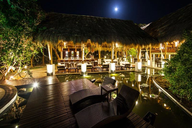 bar restaurant in het Jungle Beach Resort - Jungle Beach Resort - Sri Lanka - foto: Website