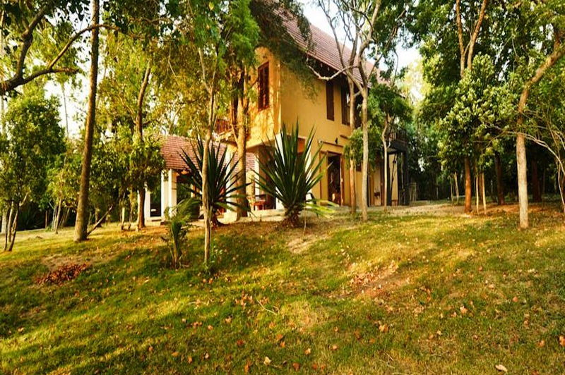buitenaanzicht Lagoon House Rekawa - Lagoon House Rekawa - Sri Lanka - foto: Website