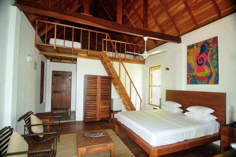 kamer in Lagoon House Rekawa - Lagoon House Rekawa - Sri Lanka - foto: Website