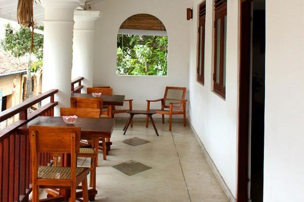 veranda in het Pedlar 62 Guesthouse - Pedlar 62 Guesthouse - Sri Lanka