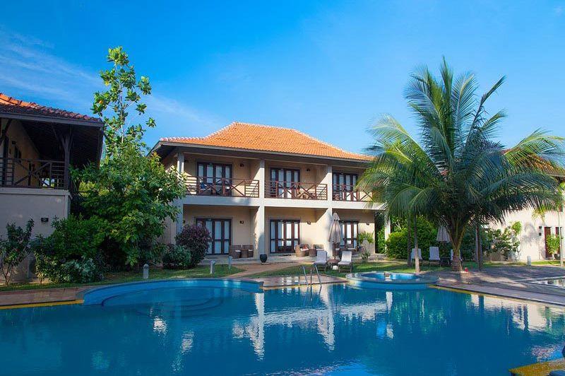 buitenaanzicht en zwembad van Ranna212 - Ranna212 - Sri Lanka - foto: Website