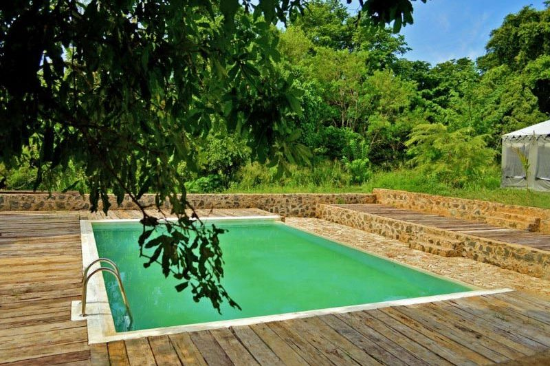 zwembad in Wild Trails Udawalawe - Wild Trails Udawalawe - Sri Lanka - foto: Website