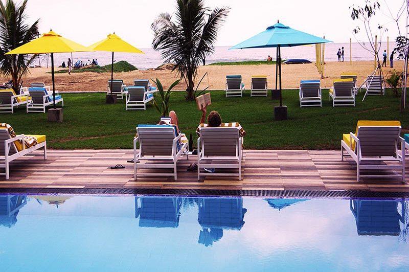 Zwembad van Hotel J - Hotel J - Sri Lanka - foto: Website