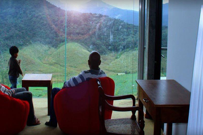Uitzicht vanuit kamer The Plains - The Plains - Sri Lanka - foto: The Plains