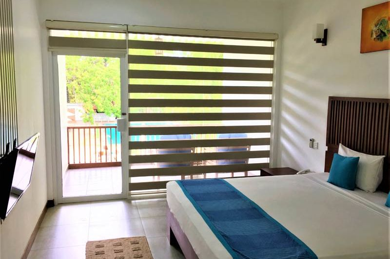 slaapkamer van Anantamaa Hotel in Trincomalee - Anantamaa Hotel - Sri Lanka - foto: Anantamaa Hotel