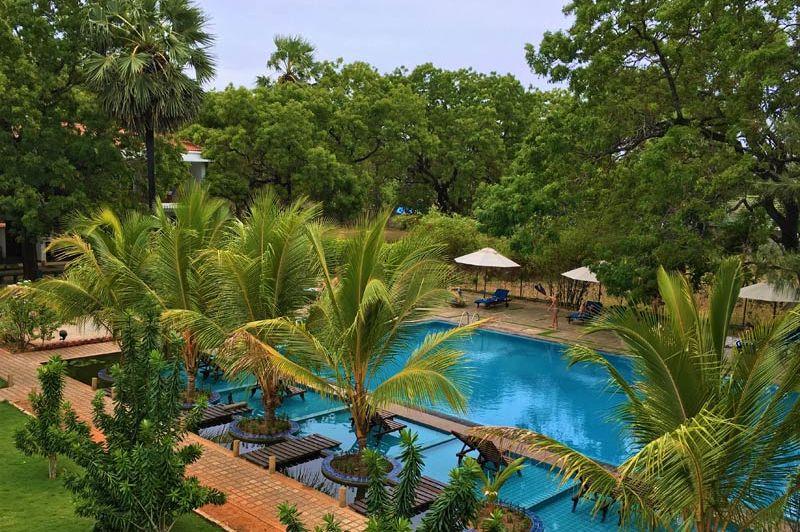 zwembad van Anantamaa Hotel in Trincomalee - Anantamaa Hotel - Sri Lanka - foto: Anantamaa Hotel