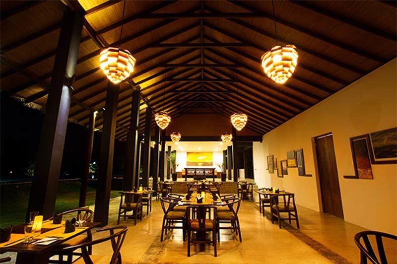restaurant van Aarya Lagoon in Kalpitiya - Aarya Lagoon - Sri Lanka - foto: Aarya Lagoon