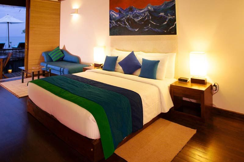 slaapkamer van Aarya Lagoon in Kalpitiya - Aarya Lagoon - Sri Lanka - foto: Aarya Lagoon