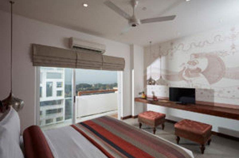 slaapkamer Jetwing in Jaffna (2) - Jetwing - Sri Lanka - foto: Jetwing Jaffna