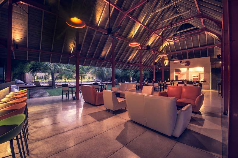 restaurant van Hotel Pledge 3 in Negombo - Hotel Pledge 3 - Sri Lanka - foto: Hotel Pledge 3