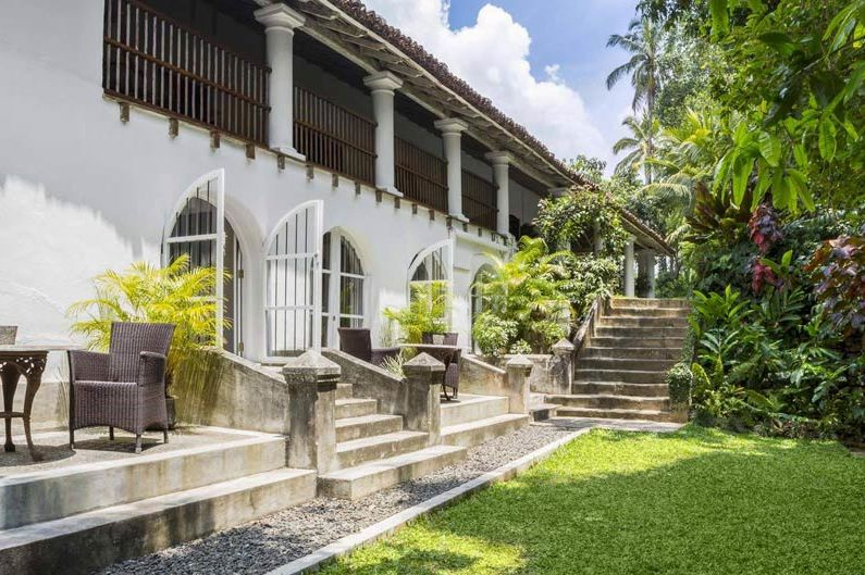 terras van The Kandy House in Kandy - The Kandy House - Sri Lanka - foto: The Kandy House