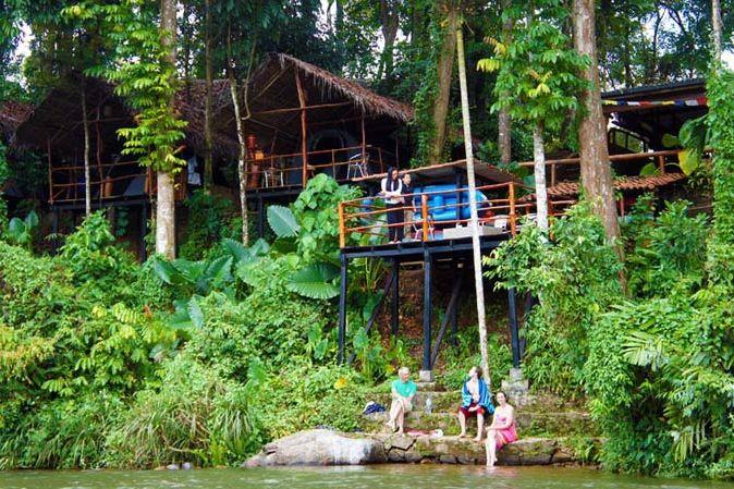 vooraanzicht van Borderlands in Kitulgala - Borderlands - Sri Lanka - foto: Borderlands