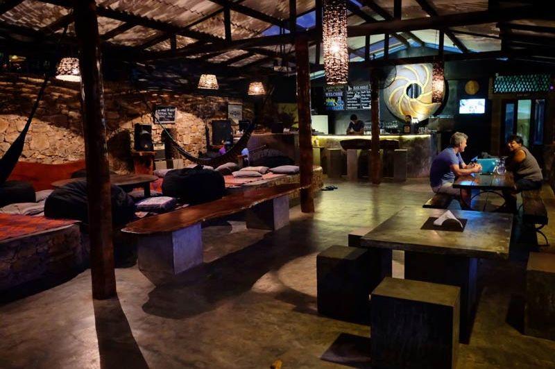 restaurant van Borderlands in Kitulgala - Borderlands - Sri Lanka - foto: Borderlands