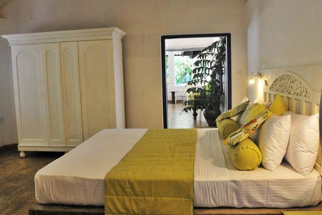 slaapkamer van Diklande Estate Bungalow in Negombo - Diklande Estate Bungalow - Sri Lanka - foto: Diklande Estate Bungalow