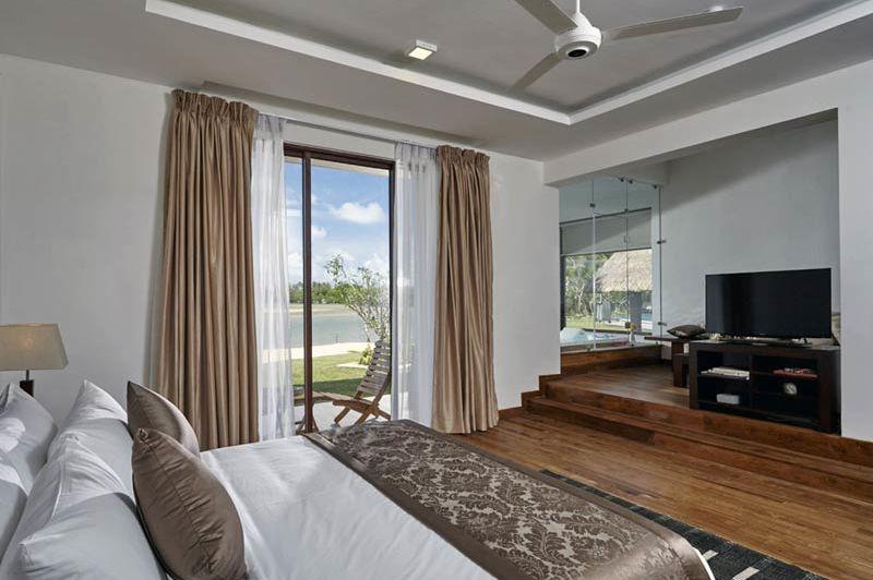 slaapkamer van Amaranthé Bay in Trincomalee - Amaranthé Bay - Sri Lanka - foto: Amaranthe Bay