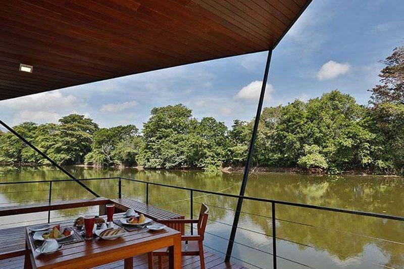 ontbijt met uitzicht van Kalundewa Retreat in Dambulla - Kalundewa Retreat - Sri Lanka - foto: Kalundewa Retreat