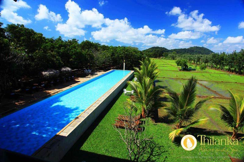 zwembad van Thilanka Resort& Spa in Dambulla - Thilanka - Sri Lanka - foto: Thilanka