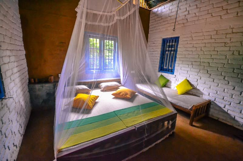 kamer van de Safari Lodge in Yala - Safari Lodge - Sri Lanka - foto: Safari Lodge