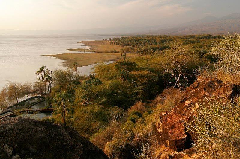 uitzicht over het meer - Kisima Ngeda - Lake Eyasi - Tanzania