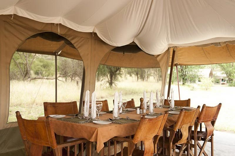 mess tent - Serengeti Kati Kati - Serengeti - Tanzania