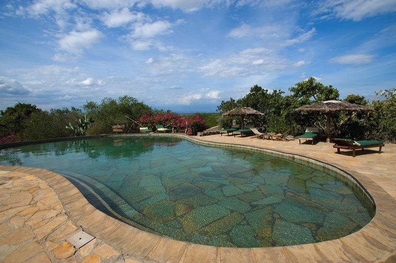 zwembad - kia lodge - Tanzania