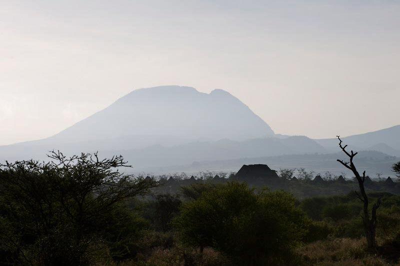 Uitzicht op de Kilimannjaro - Kambi ya Tembo - Tanzania - foto: Tanganyika Wilderness Camps