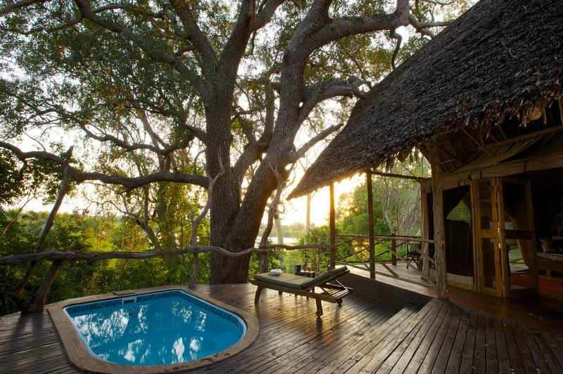 Rufiji Suite met plunge pool - Rufiji River Camp - Tanzania - foto: Niels van Gijn - Foxes Safari Camps