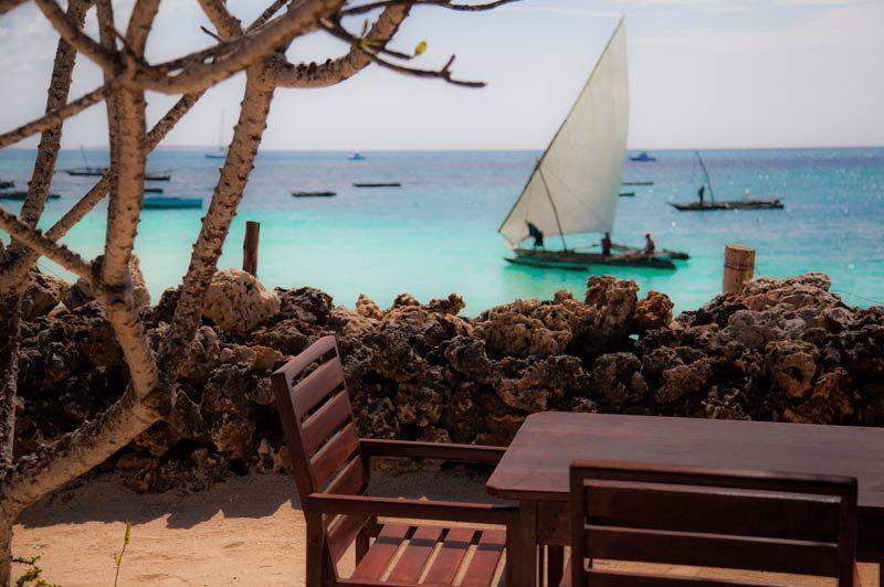Flame Tree Cottages uitzicht - Zanzibar - Tanzania - foto: lokale agent