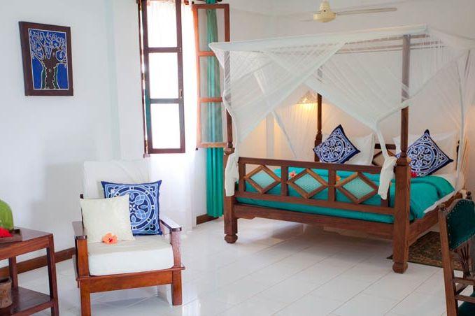 Flame Tree Cottages, Standaard kamer - Zanzibar - Tanzania - foto: lokale agent