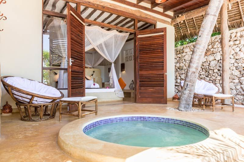 Sunshine Hotel, Honeymoon Suite - Sunshine Hotel - Tanzania - foto: lokale agent