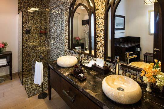 badkamer van Hotel Riu Palace Zanzibar - Zanzibar - Tanzania - foto: lokale agent