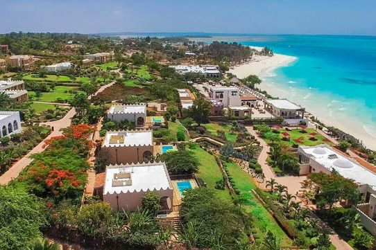 uitzicht vanaf Hotel Riu Palace Zanzibar - Zanzibar - Tanzania - foto: lokale agent