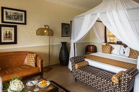 slaapkamer van Hotel Riu Palace Zanzibar - Zanzibar - Tanzania - foto: lokale agent