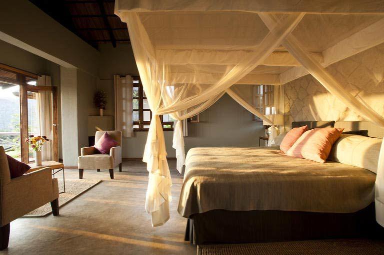 slaapkamer van Kitela Lodge (2) - Kitela Lodge - Tanzania - foto: Kitela Lodge