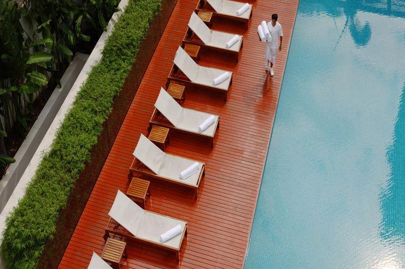 zwembad - The Metropolitan Bangkok - Bangkok - Thailand