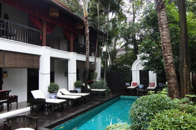 zwembad - Tri Yaan Na Ros - Chiang Mai - Thailand