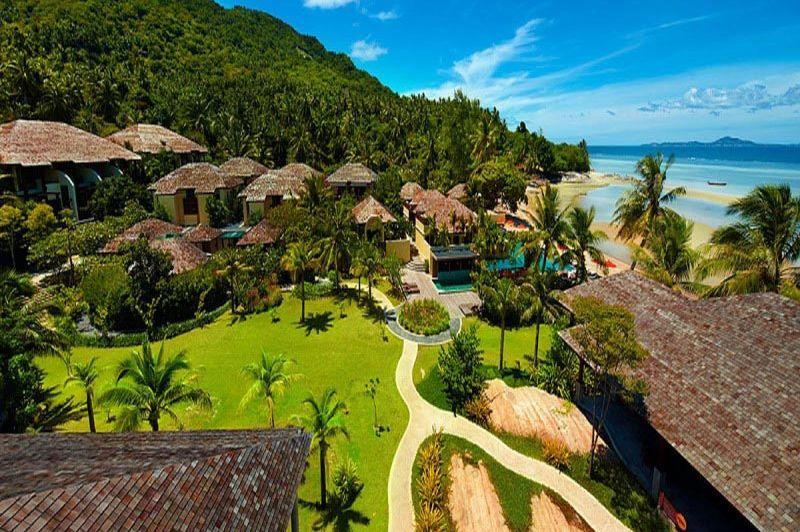 uitzicht Chantaramas Resort - Koh Phangan - Thailand