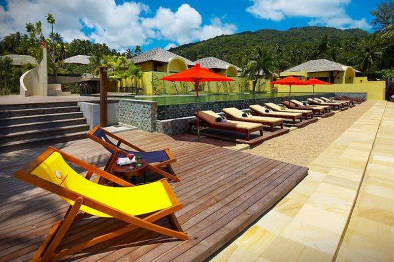 zwembad Chantaramas Resort - Koh Phangan - Thailand