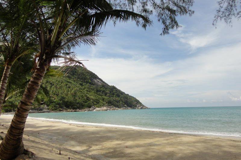 uitzicht - Haad Khuad Resort - Koh Phangan - Thailand