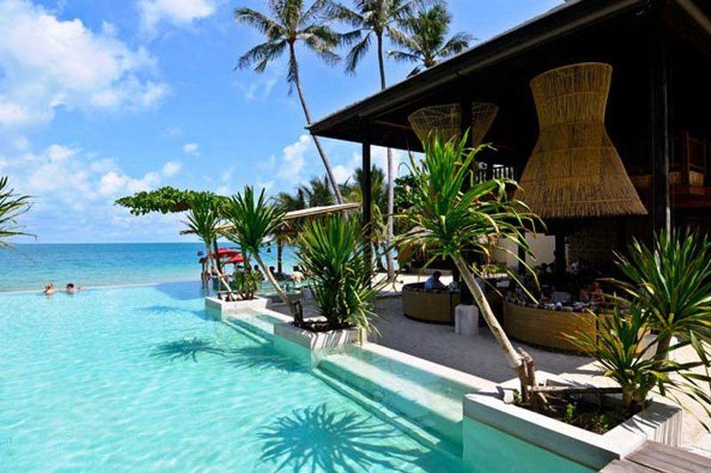 zwembad - Anantara Rasananda - Koh Phangan - Thailand